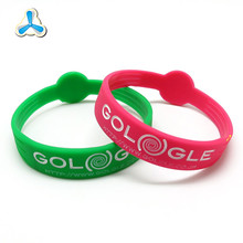 Most popular cuatomized logo basketball wrist bands silicone rubber