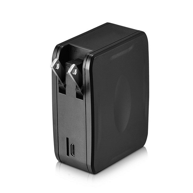 Black Mini USB Charger Hidden Camera 32GB1080P Covert Nanny Wall Charger Camera Home Surveillance and Security