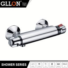 Top1 manufacturer thermostatic brass chrome plated bathroom sanitary fittings