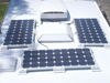 200W poly solar panel module with TUV certificate