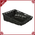 Supermarket plastic rattan fruit and vegetable basket factory wholesale
