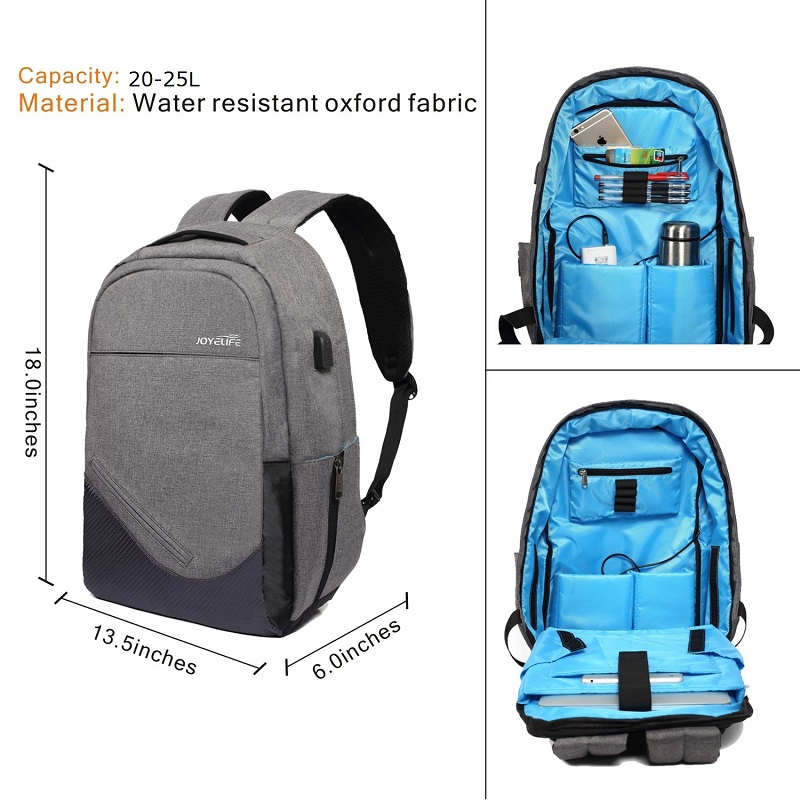 Anti Theft Water Resistance Business Branded Laptop Bags Backpack