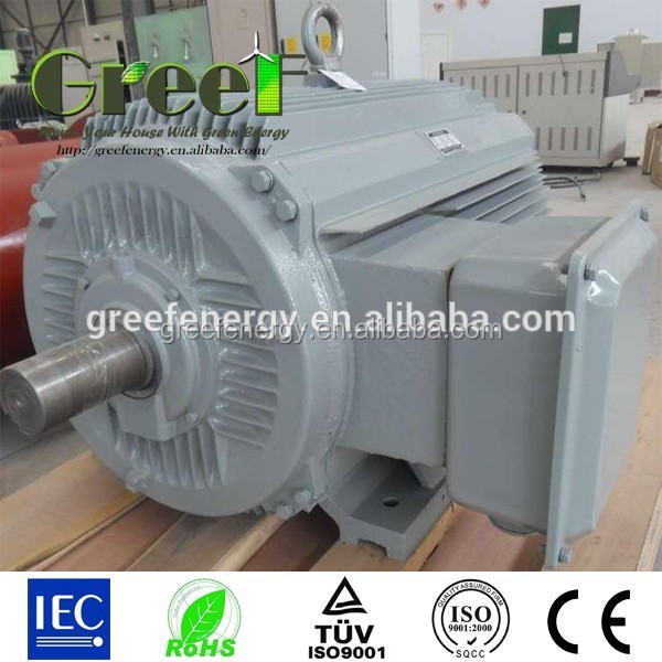 10kw 50kw 100kw direct drive generators, Low rpm PMG , 3 phase synchronous alternators