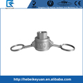 Investment Casting Stainless Steel Screwed Cam Lock-Type DC Dust Cap