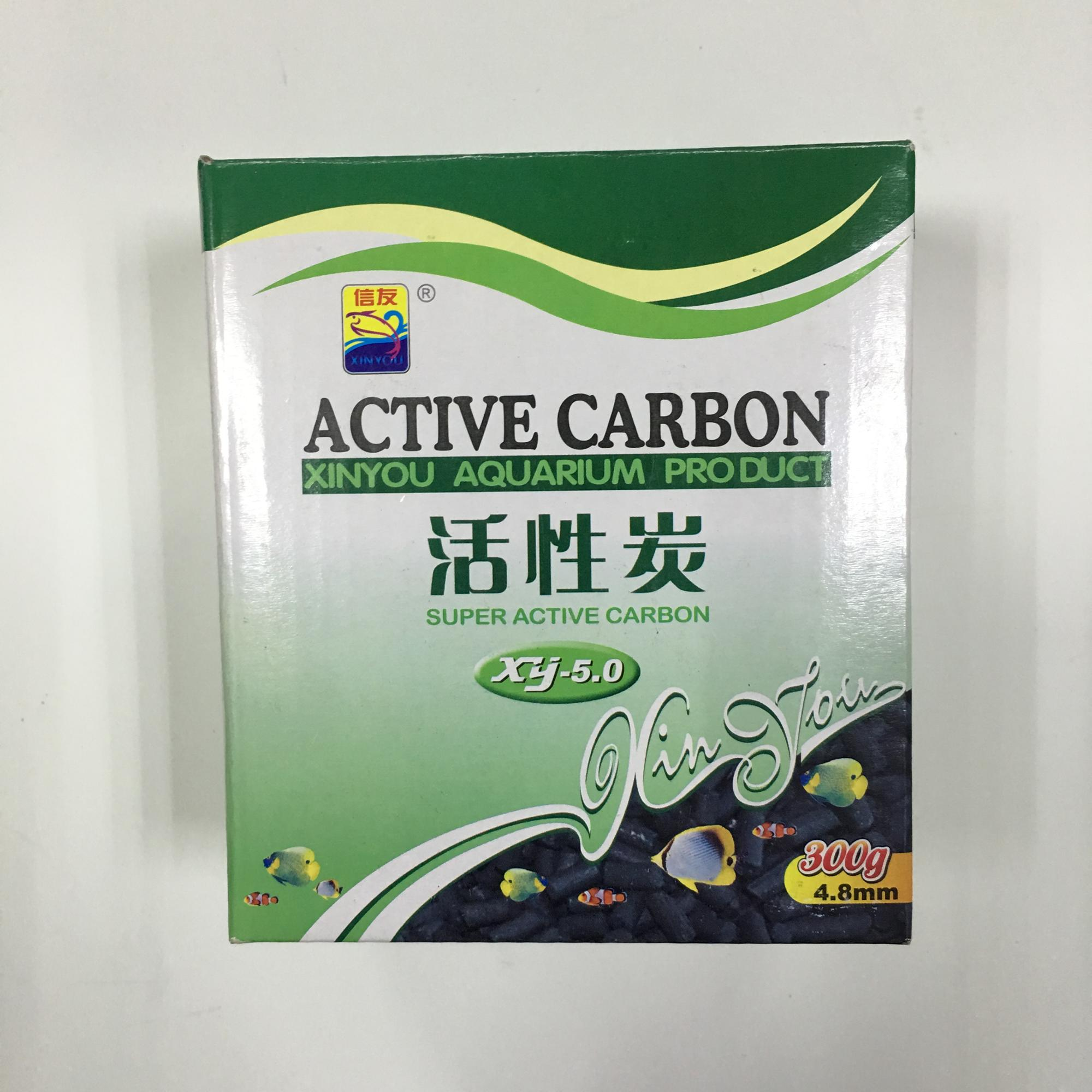 XINYOU active carbon , activated carbon in bio pond filter, filter system, filter supplies box package