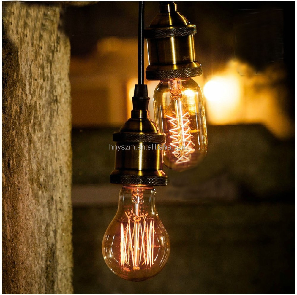 decorative pendant lighting vintage industrial style