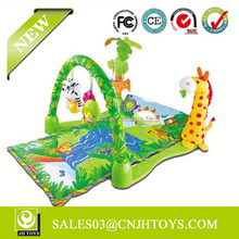3059 Hot Selling Musical Rainforest Fun World Baby Mat For Sale