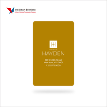 High Quality Cool Plastic PVC Hotel Smart Key Cards as Hotel Room Door Keycards