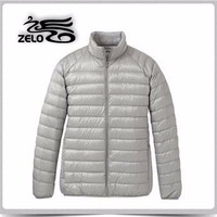 Made in china sexy thin men down jacket oem