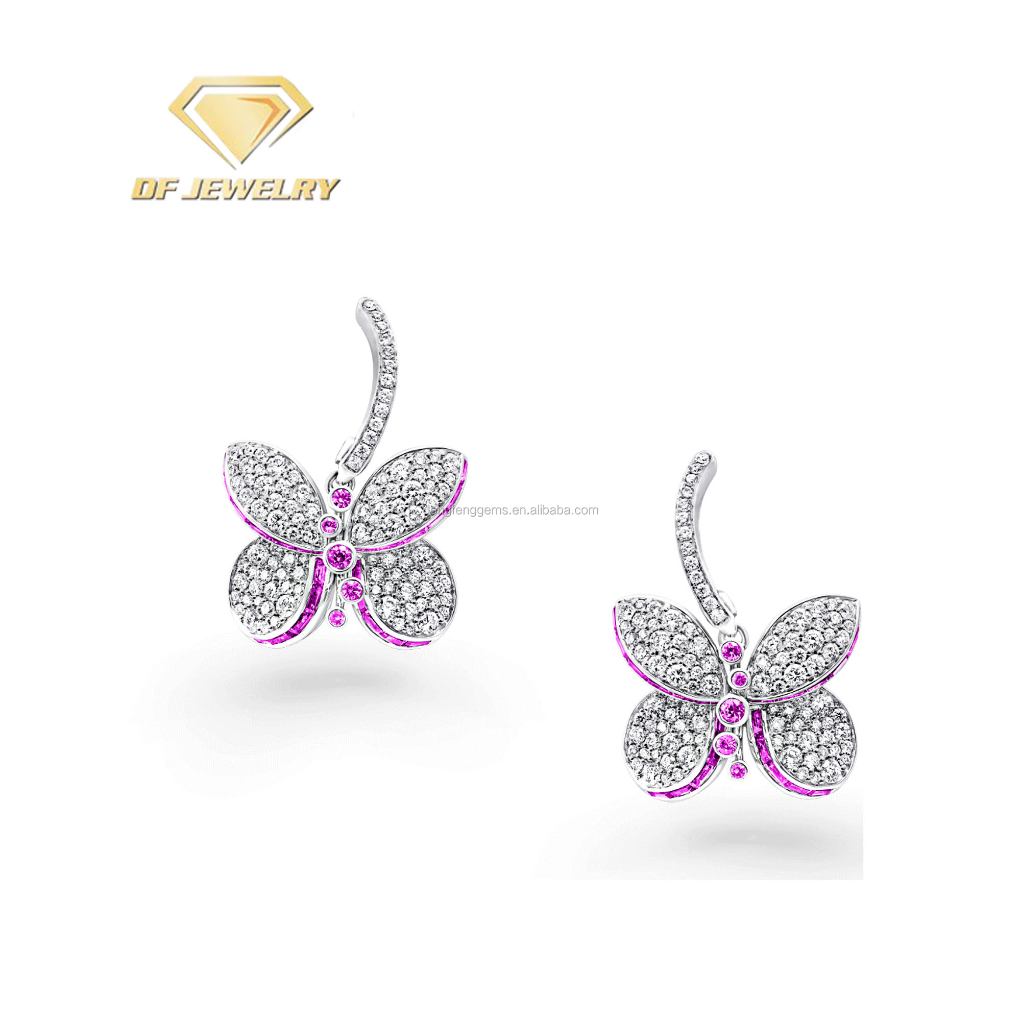 Jewelry For Sale,Butterfly New Designs Gold Jhumka Earring