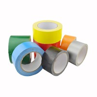 Strong adhesive duct tape for sealing and packing