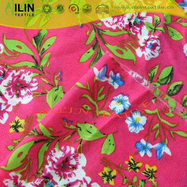Polyester wool peach fabric /100 polyester peach fabric for fashion ladys