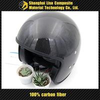 racing helmet carbon fiber helmet half shell motorcycle helmet carbon open face