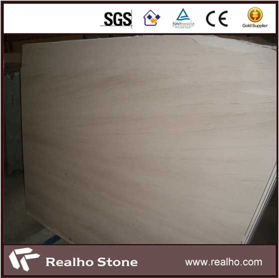 Polished Vanilla Moon Mocha Cream Beige Marble Slabs