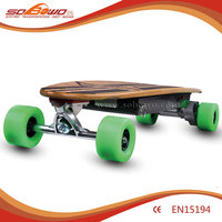 Quality E-Skateboard 500W Li-ion Battery Remote Bluetooth Controlled Electric Light Longboard (W5001)