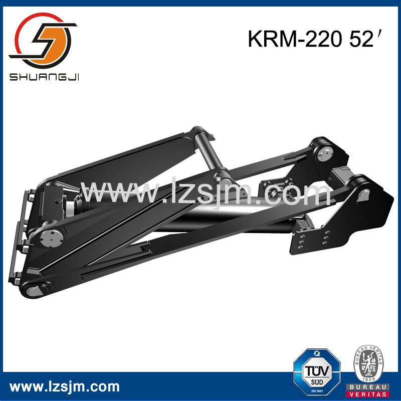 China factory dump truck hydraulic jack Good quality of dump truck telescopic hydraulic cylinder krm 220 52''