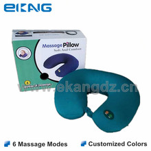 Hot sale tv product vibra travel U shape massage pillow