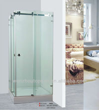 Frameless Tempered glass Sliding Shower Enclosure /Screen Square