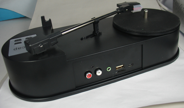 Turntable Player and Converter Save Vinyl music records to TF Card or USB Flash Drive Standalone work ezcap613