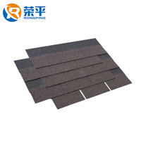 Waterproofing materials economy grade easily assembled type architectural roofing shingles