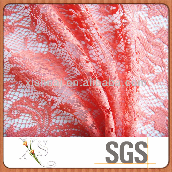 100% Polyester Lace Mesh Fabric For New Wedding Dress