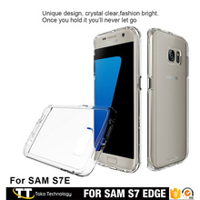 Protector clear cover s7 edge,s7 edge transparent slim case,transparent case s7 edge