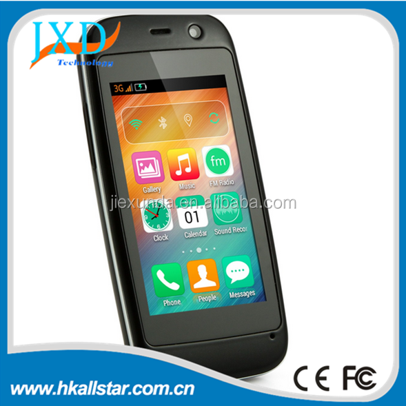 Original 2.45'' ELEPHONE Q MTK6572W Dual Core 3G mini smartphone 512MB RAM 4GB ROM Android 4.4 Smart Mobile Phone