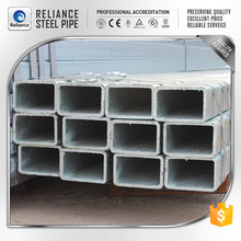 high quality REC hollow section steel pipe for timbering