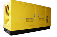 guangzhou factory price sale 125KVA 100kw power silent electric silent 100kw diesel generator set