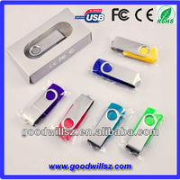 Low cost capless usb flash drives