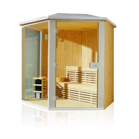 HS-SR6012M outdoor sauna room/ outdoor home sauna/ 6 person outdoor sauna