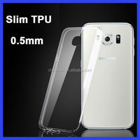 2016 New For Samsung S6 edge case 0.3 mm ultra thin clear transparent TPU Mobile phone cover for samsung galaxy j3