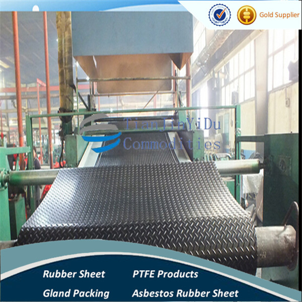 TJYD-professional manufacturer promotion 6mm-12mm thickness Pulley lagging Rubber sheet /diamond rubber floor mat