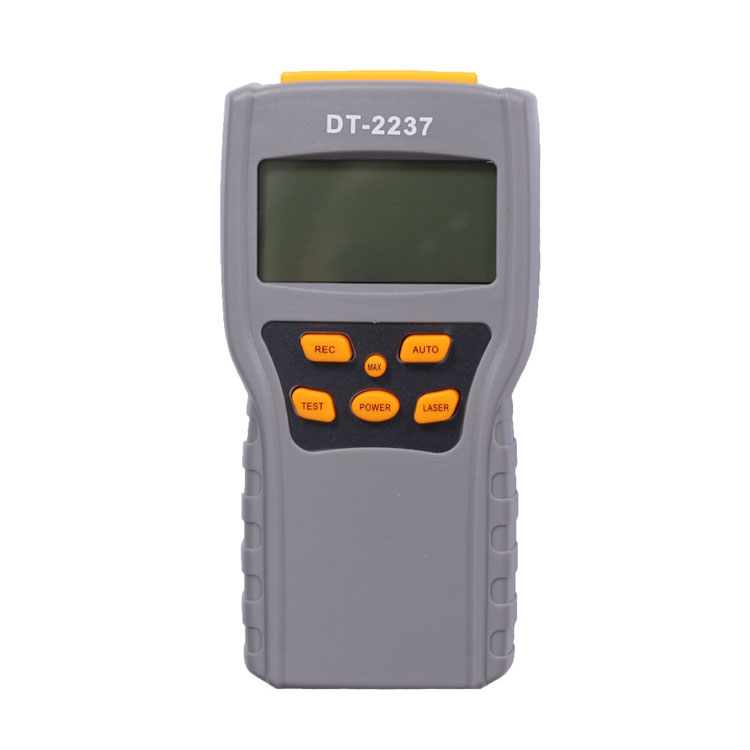 New Product Digital RPM Tachometer Laser Tachometer with Momery
