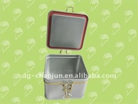 custom tin box with metal wire wholesale