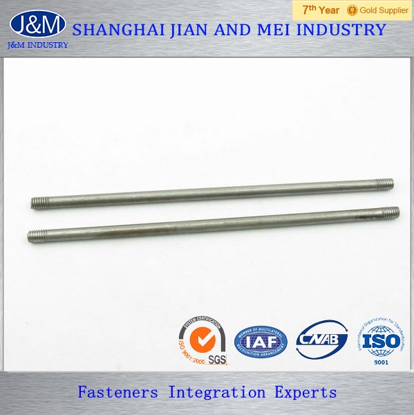 high strength bolt pull zinc plated stud bolt