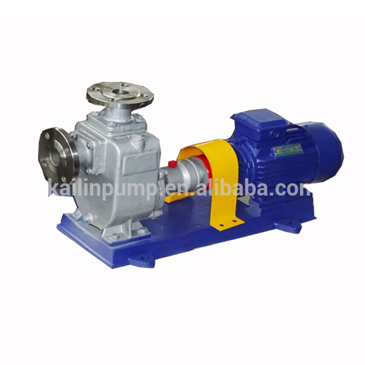 duplex stainless steel self priming centrifugal water pump