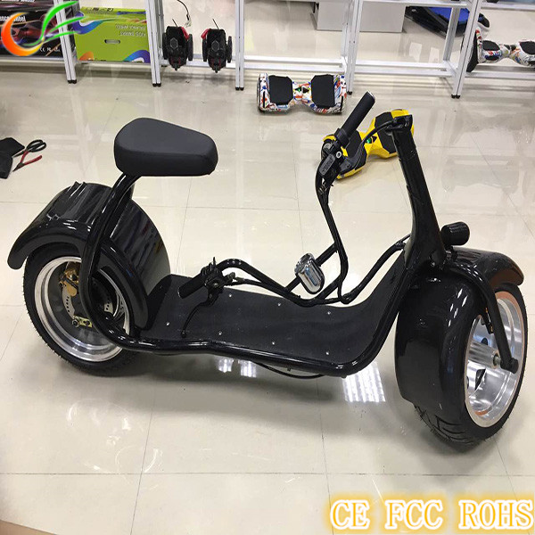2016 Discount Price Harley electric scooter 1000w BIg wheel electric scooter