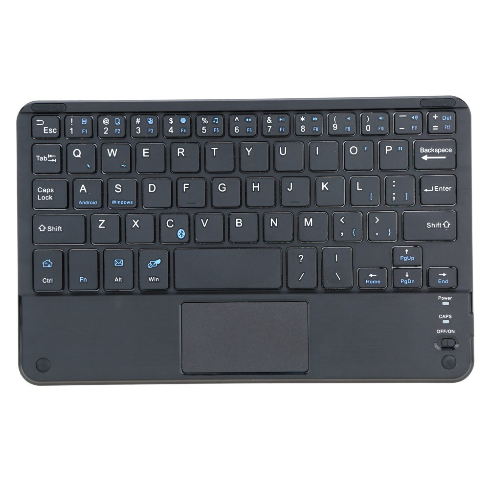 59 Keys Ultra Slim Thin Mini Bluetooth Keyboard with Touch Pad Panel wholesale price