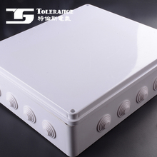 Waterproof cable enclosure plastic junction box