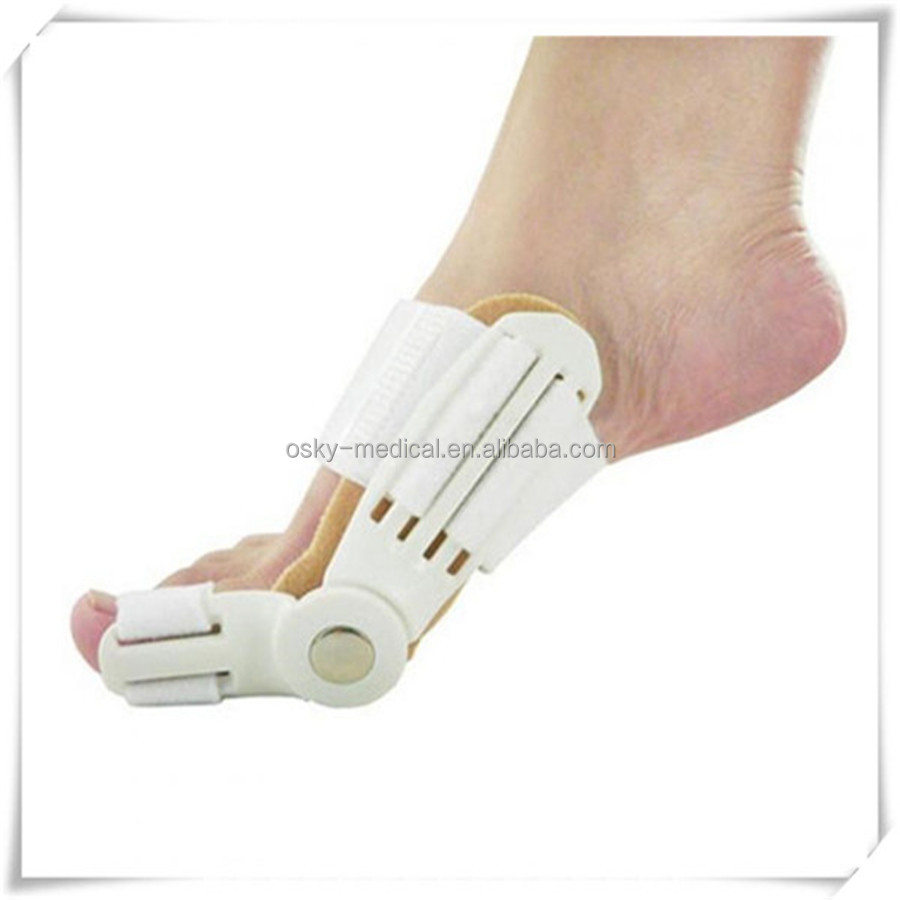 Beautiful Toe separator for big toe,Orthotic silicone toe straighten spearder with environment friendly