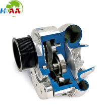 OEM China supplier CNC machined electric centrifugal supercharger for car
