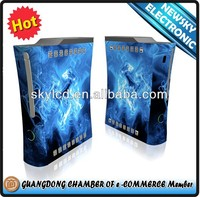 Fashion color design for xbox360 custom skin