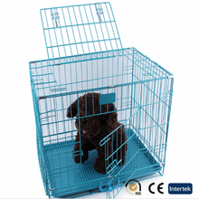 High quality iron wire dog cage folding hot sell