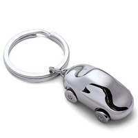 Wholesale high quality promotional souvenir zinc alloy custom shape 3D metal car keychain