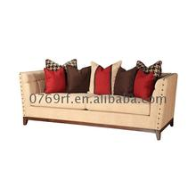New arrival China Good living room lobby design fella modern sofa sets