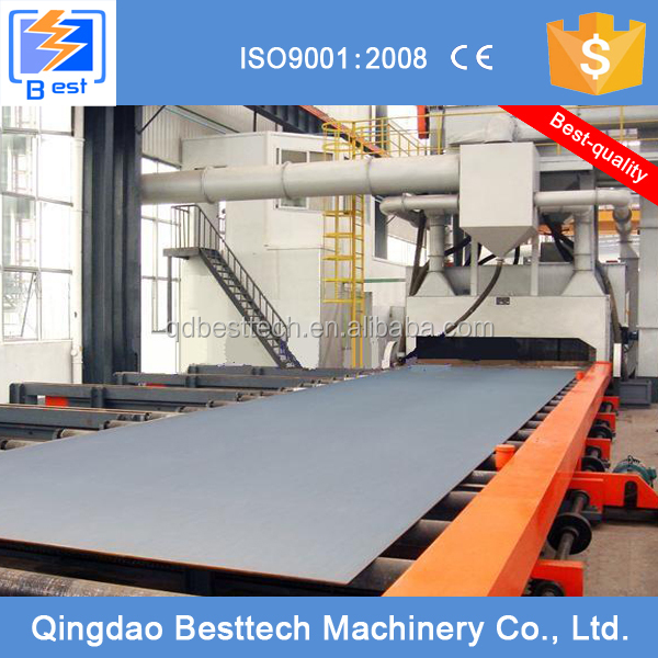 Q69 boat deck shot blasting machine