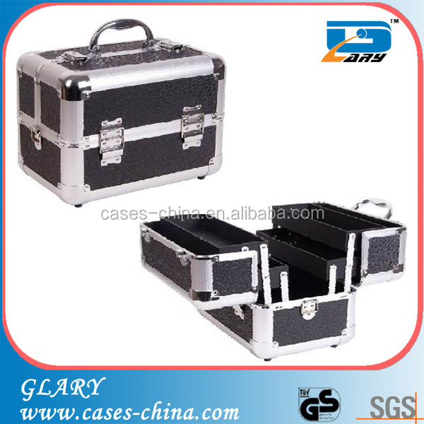 Professional aluminum vanity beauty wholesaler makeup case