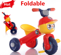 Lovely deisgn plastic tricycle kids bike, child light weight bicycle baby tricycle with light& music