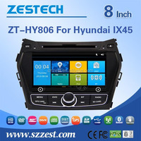HD screen gps navigator car video player for Hyundai Santa fe IX45 2013 2014 oem car dvd radio gps audio bluetooth touch video